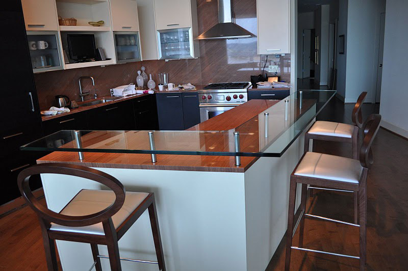 Customize Your Bar With A Glass Countertop Haider Glass Specialties